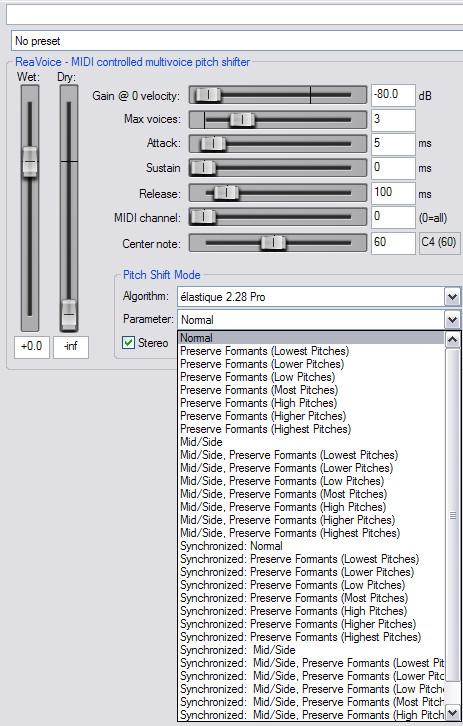 Harmonizer plugin - Cockos Incorporated Forums